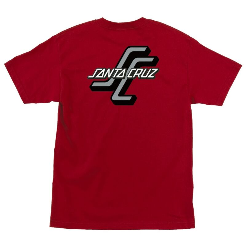 Santa Cruz OTHER OGSC LOGO Skateboard T Shirt CARDINAL RED XXL