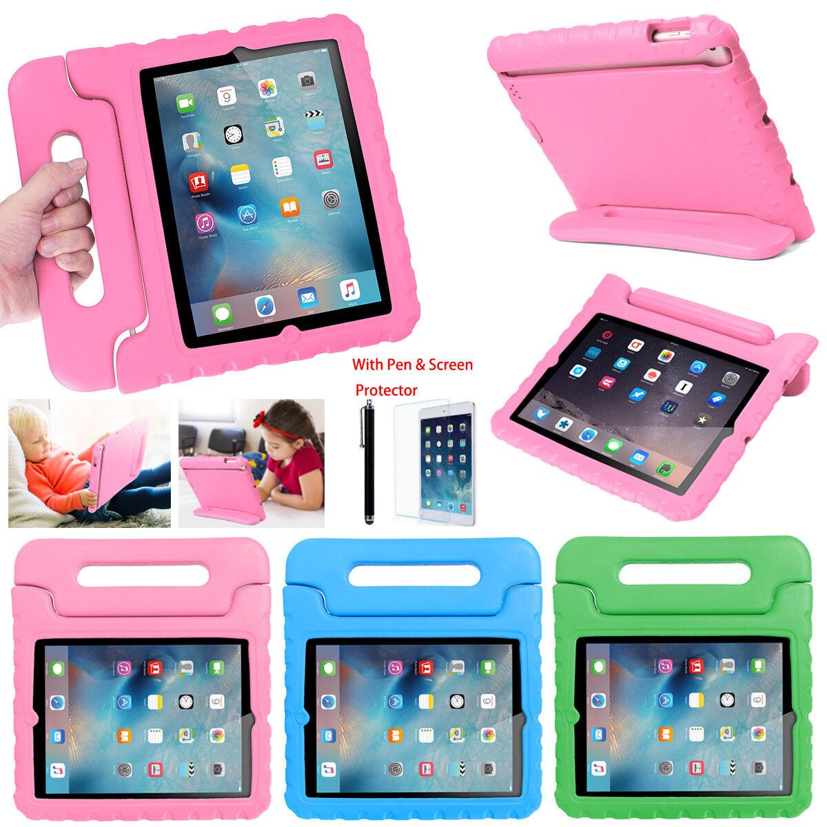 iPad Mini 2 3 4 iPad 2 3 4 5 6 2018 Kids Shockproof EVA Case
