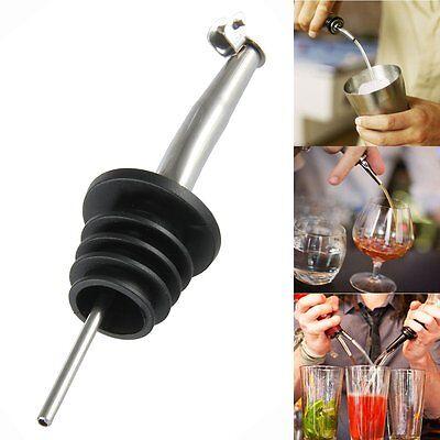 2x Bottle Pourer Pour Spout Stopper Dispenser Liquor Flow Olive Wine Oil Nozzle