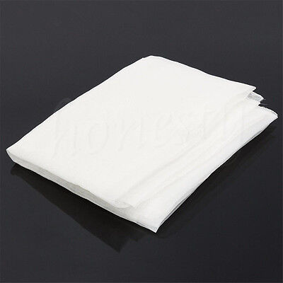 80t White Polyeste Silk Screen Print Printing Mesh Net Fabric Textile 100x127cm