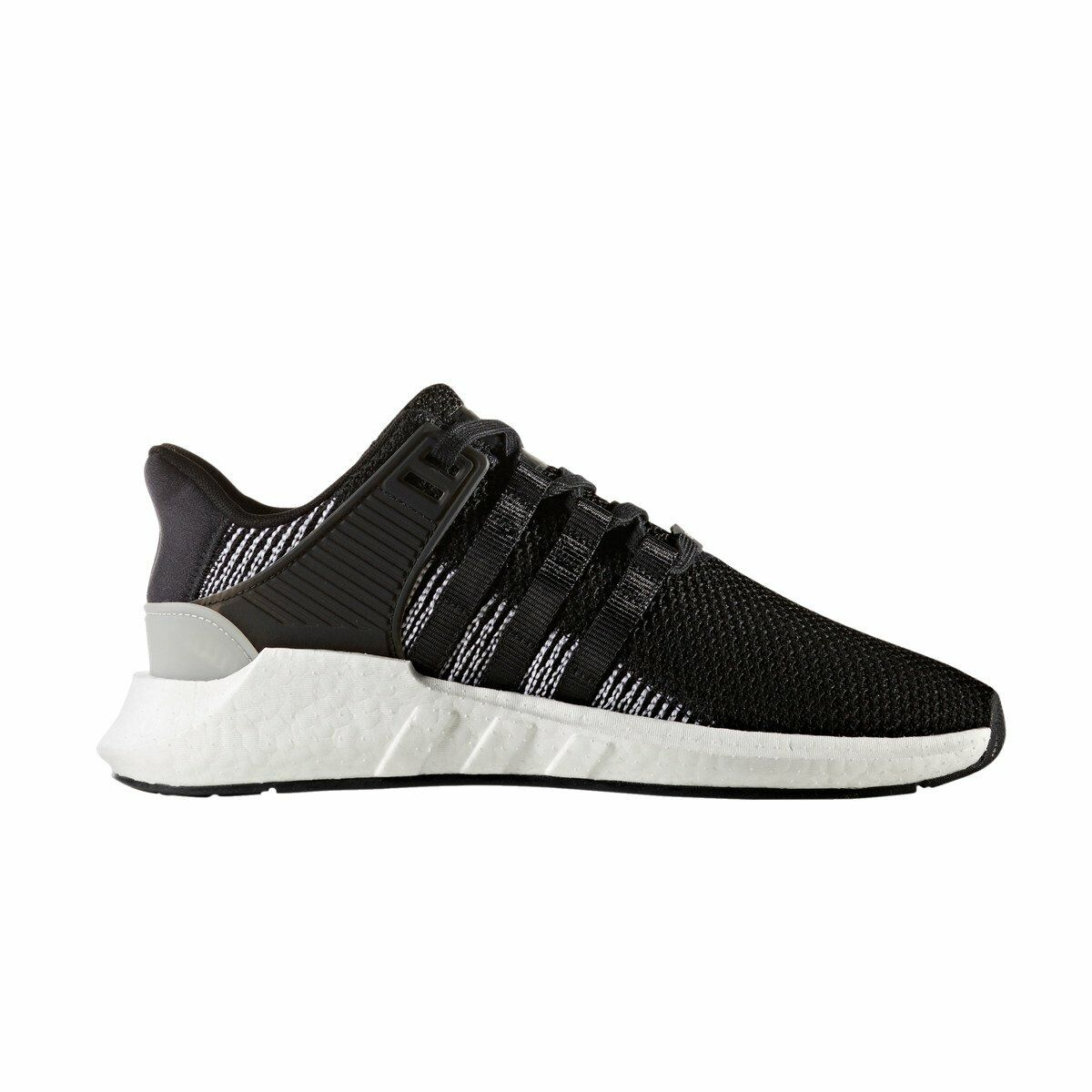 SCARPE ADIDAS ORIGINALS UOMO EQT SUPPORT 9317 BY9509 NERO BIANCO BLACK ORIGINALI
