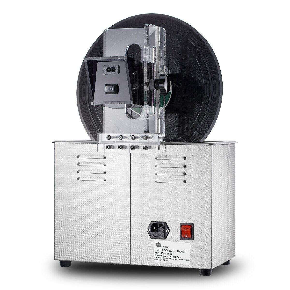 Liftable Ultrasonic Cleaner Timing Washer For Lp Vinyl