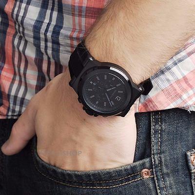 Michael Kors Original MK8152 Men's Stainless Steel Chronograph Watch Black