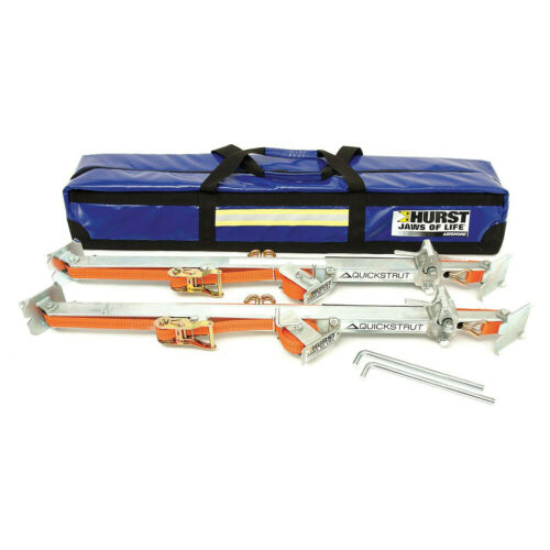 New Hurst Airshore Quickstrut with Carrying Case Kit Jaws of Life Free Ship