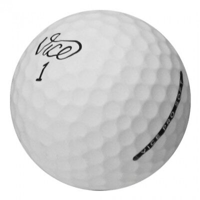36 Vice Mix Matte Finish Near Mint Used Golf Balls AAAA