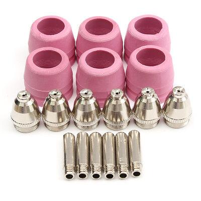 Tips Consumables Fit 60a Lotos Plasma Cutter Ltp5000d Ltpdc2000 Ltpac2500 18 Pcs