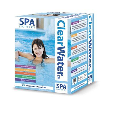 Clearwater CH0018 Lay-Z-Spa Chemical Starter Kit Hot Tub Spa Treatment