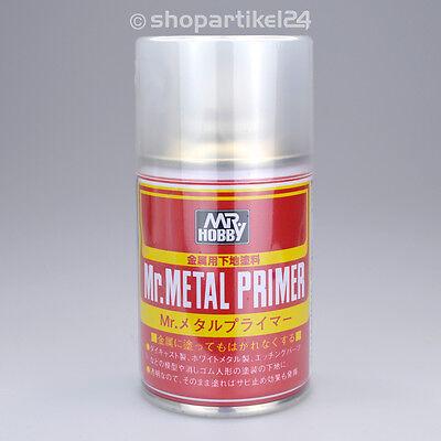 (7,39€/100ml) Mr. Metal Primer-R SPRAY Grundierung / Schutzlack - Mr.Hobby B-504