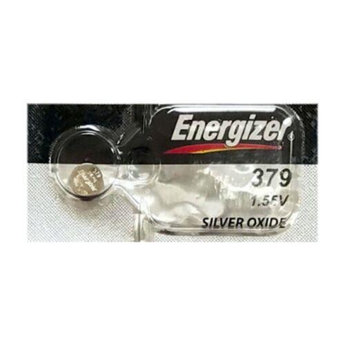 1 Energizer 379 Sr521sw Sr521 V379 Silver Oxide Watch Battery