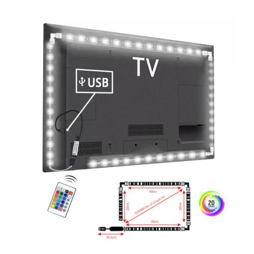 DC 5V 5050 RGB LED Strip Light Bar TV Back Lighting Kit With
