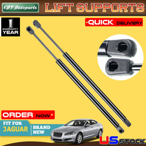 Fits XF 2009 To 2015 Front Hood Lift Supports 2 Qty