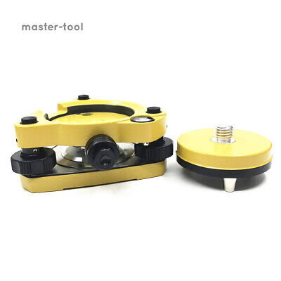 Yellow Carrier Fixed Adapter With 58x11 Thread Tribrach With Optical Plummet