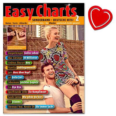 Easy Charts SONDERBAND: Deutsche Hits! 2 - für Klavier - MF3598 - 9783795710903