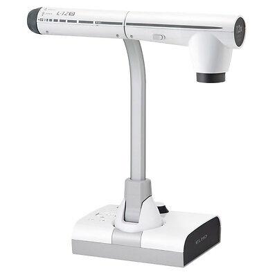 ELMO L-12iD Präsentationskamera FullHD 1080p Einsatz ohne PC möglich SD-Slot