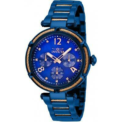 Invicta Women's Watch Bolt Quartz Blue Mother of Pearl Dial Bracelet 29137