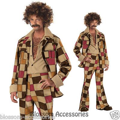 Disco Sleazeball Costume (C243 Men 60s 70s Disco Sleazeball Adult Fancy Dress)