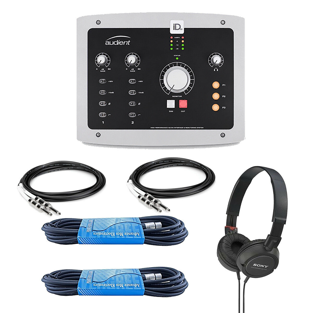 Audient ID22 10-In/14-Out High Performance USB Audio Interfa
