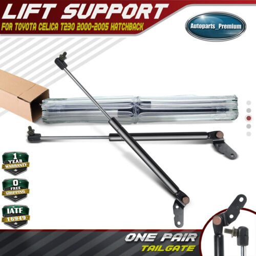 Fits Toyota Celica 2000 To 2005 Hatch Lift Supports Struts Shocks W//Stock Spoiler /& Or Wiper on Hatch Qty 2
