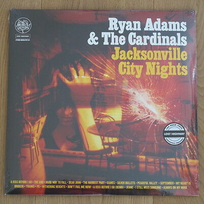 RYAN ADAMS - Jacksonville City Nights **180g US-Vinyl-2LP**NEW**sealed**