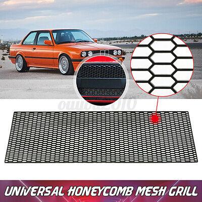 3.93'x1.3' Universal ABS Plastic Racing Car Bumper Honeycomb Mesh Grill Vent US