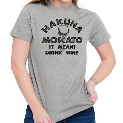- Drinking Moscato Funny Drink Wine Wednesday Cute Mom Gift Ladies T Shirt Tee