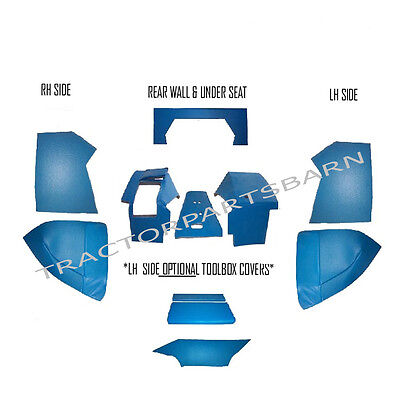 Ford New Holland Cab Foam Kit 10 Piece Blue 5600 6600 7600