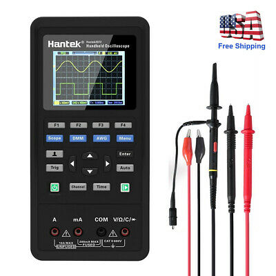 Hantek Handheld 3in1 2ch Digital Oscilloscope Multimeter Tester 40mhz 70mhz Dmm