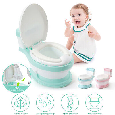 Portable Baby Kids Toilet Training Child Toddler Potty Trainer Seat Chair