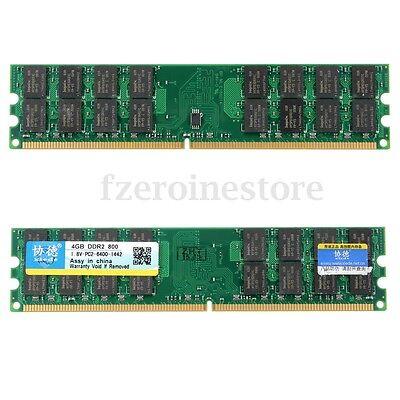 8GB(2x4GB)DDR2 800Mhz PC2-6400 240 Pin 1.8V Desktop Memory RAM AMD DIMM Set
