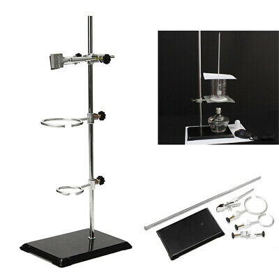 Laboratory Stands Support Ironlab Clamp Flask Clamp Condenser Clamp Fixing Kit