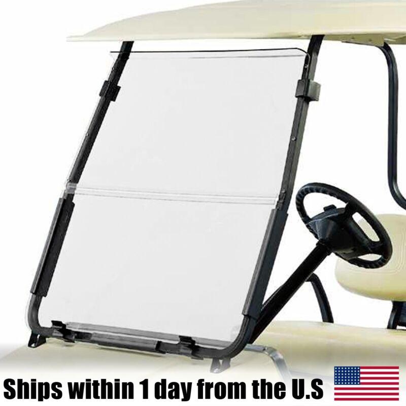 Clear Golf Cart Windshield Fits Club Car DS