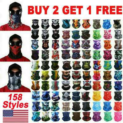 Face Balaclava Scarf Neck Fishing Cover Sun Gaiter Uv Headwear  158 Style
