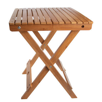 spa sensations bamboo foldable spa accessory bench