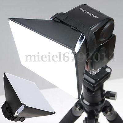 Universal Studio Flash Diffuser Softbox Speedlite for Canon Nikon Sony Camera