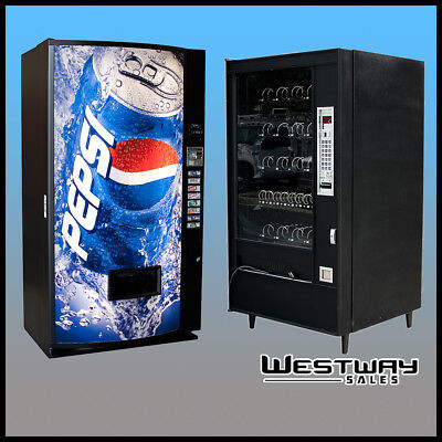 Details about  /Vendo v264 Pepsi Flat Front Single Price Can Vending Machine FREE SHIPPING
