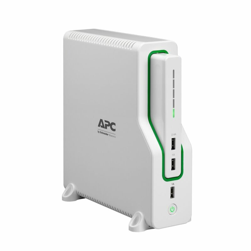 APC Back-UPS Connect (BGE50ML) Lithium Ion UPS with 11400mAh Mobile Power Pack [