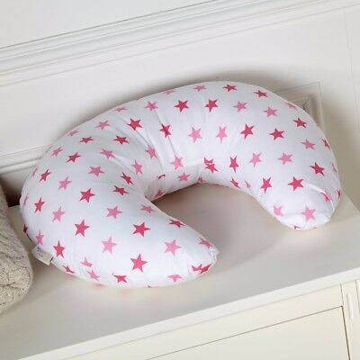 Breast Feeding Maternity Nursing Pillow Little Star Pink