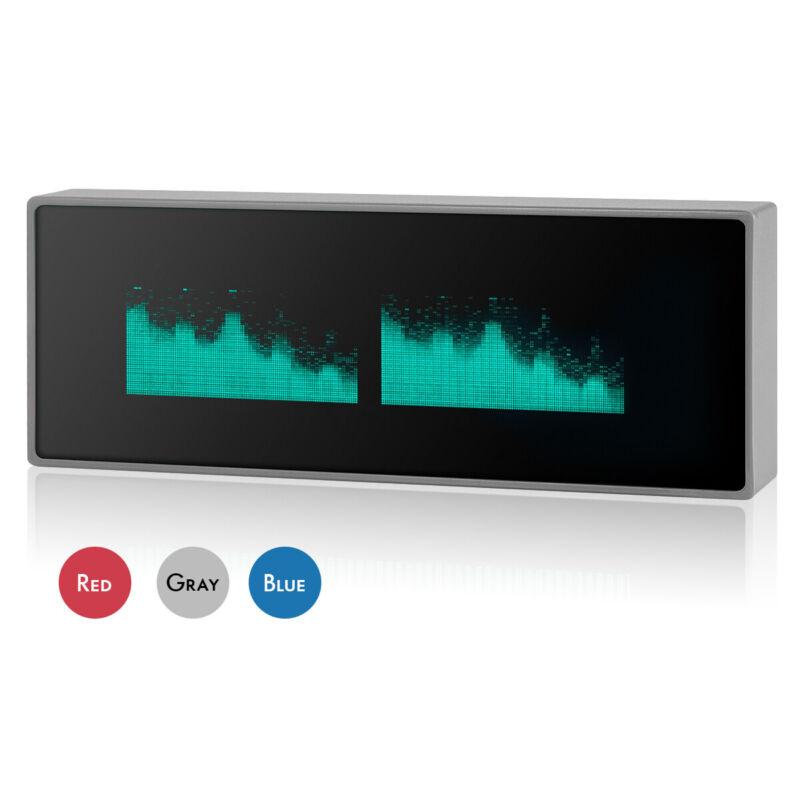 VFD Clock Music Spectrum Display Sound Level Indicator Dot Matrix Audio VU Meter