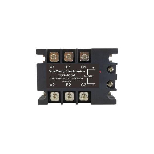 YueYang TSR-40DA three phase DC control AC 40A 480V solid state relay