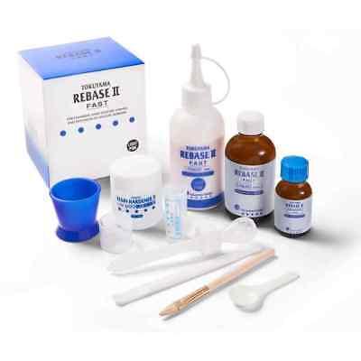 Tokuyama Rebase-ii Chair-side Hard-denture Partial-denture Kit