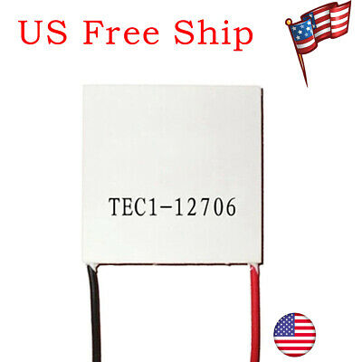 Tec1-12706 12v 60w Heatsink Thermoelectric Cooler Cooling Peltier Plate Module