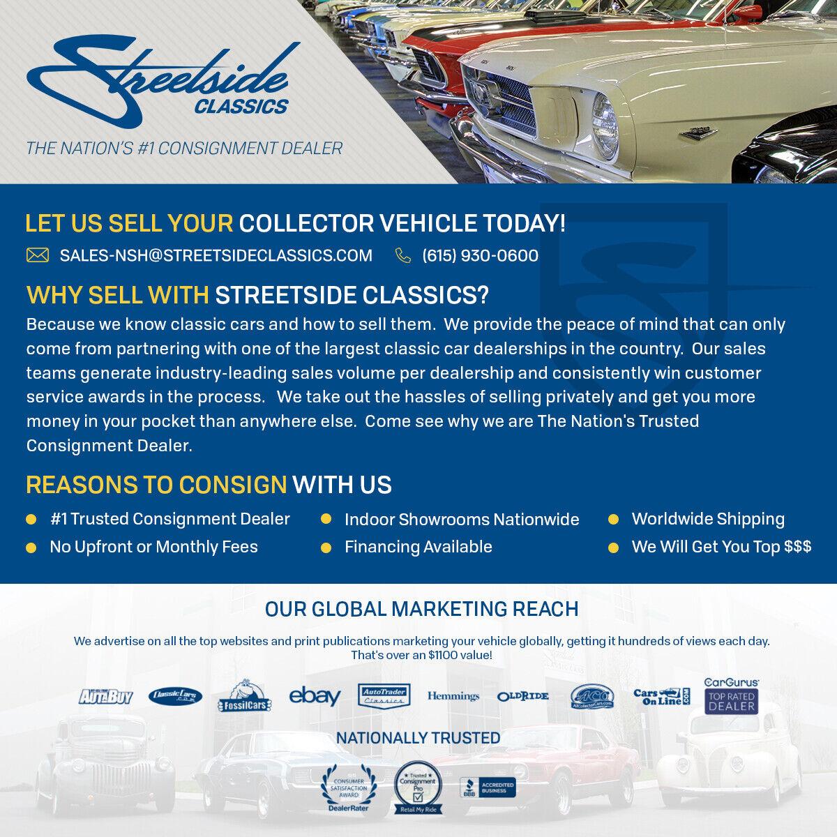 Classic vintage Allante convertible V8 original window sticker low mileage