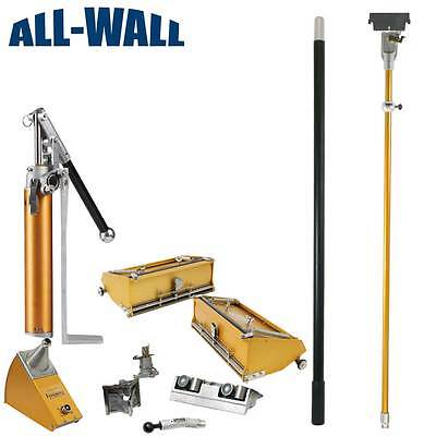 Tapetech Pro Value Drywall Finishing Set - 1012 Boxes Angle Box Head Pump