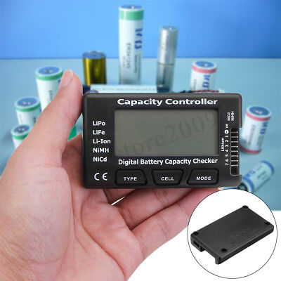 Lipo Cell Voltage (DIGITAL LCD BATTERY 4S-7S LIPO LIFE LI-ION VOLTAGE CELL CHECKER TESTER   ! NEW )