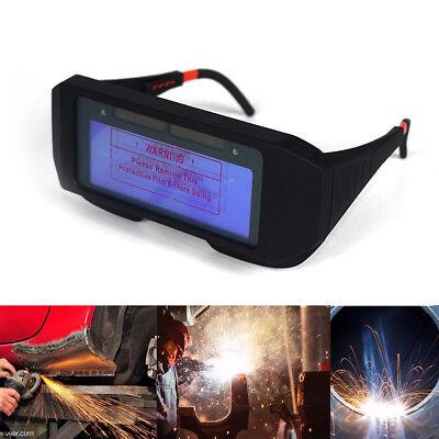 Solar Powered Auto Darkening Welding Helmet Eyes Goggle Welder Welding Glasses