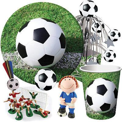 Fußball Geburtstags Party Auswahl {Creative} Fussball Geschirr Ballons &