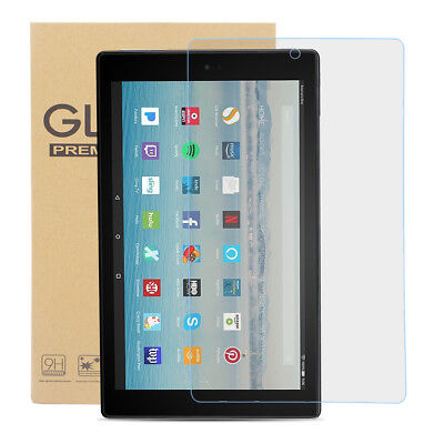 Tempered Glass Screen Protector for Amazon Fire HD 10 (7th Gen-2017)