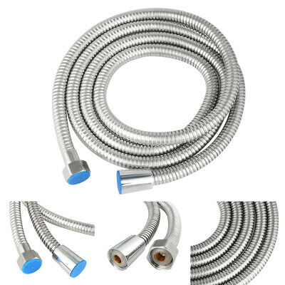3M Shower Head Hose Handheld Extra Long Stainless Steel Bathroom Flexible