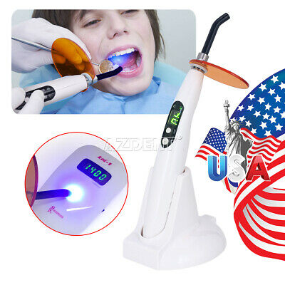 Woodpecker Style Dental Wireless Led Curing Light Lamp Led-b 1200-1400mwcm2 Usa