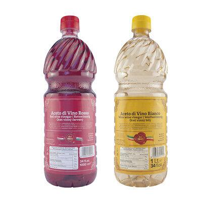Brivio - Aceto di Vino - Weinessig - Rot - Weiß - Essig 1 Liter